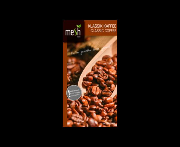 mesh Stick Klassik Kaffee