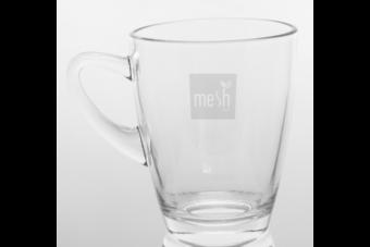 mesh Stick Tee Glas