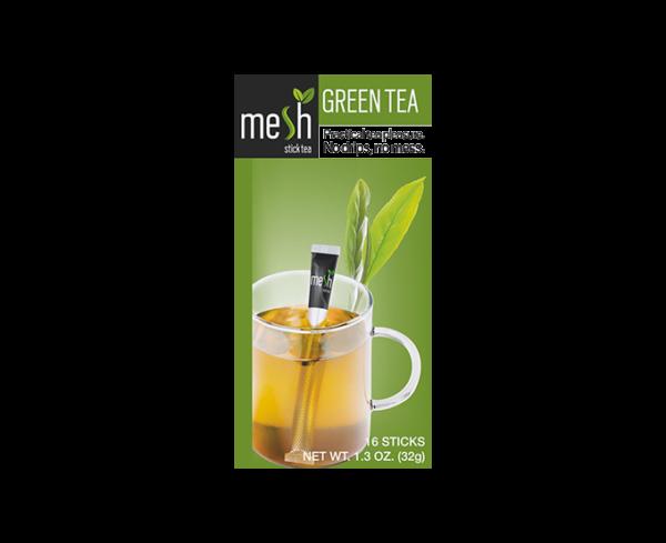 mesh Stick Grüner Tee