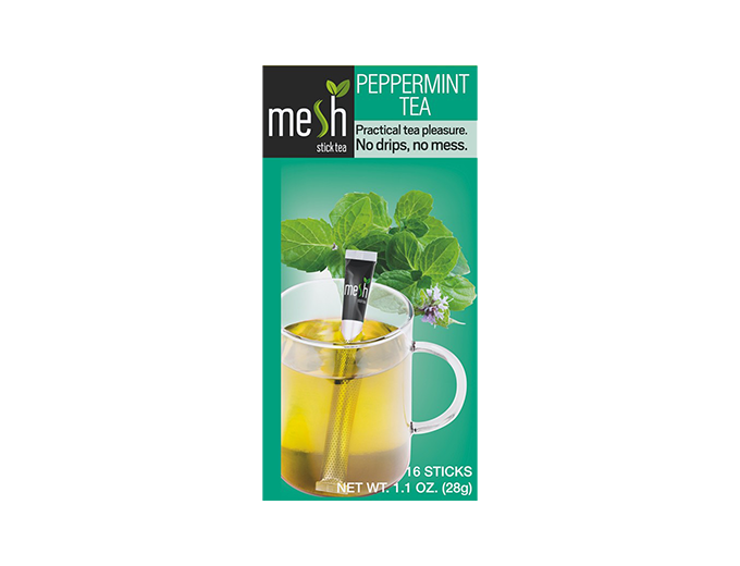 mesh Stick Pfefferminz Tee