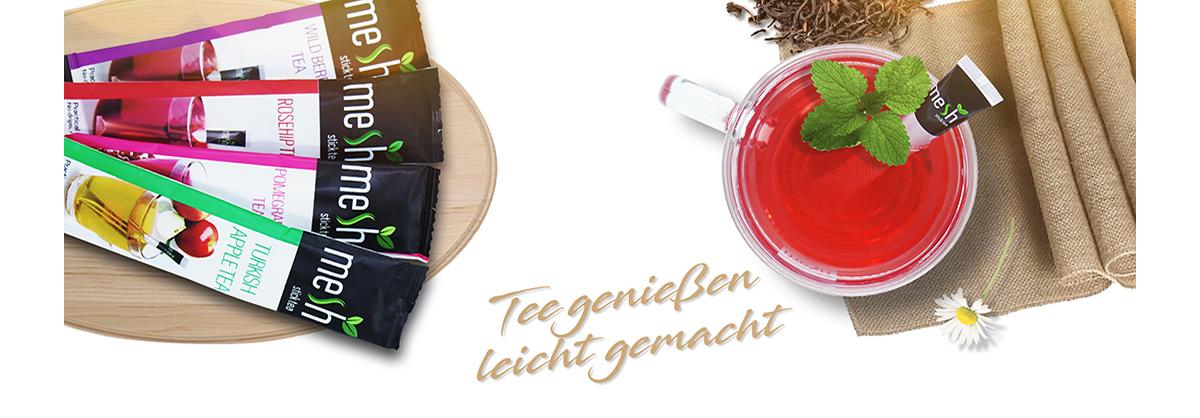 MeshSticks - Tee genießen, leicht gemacht