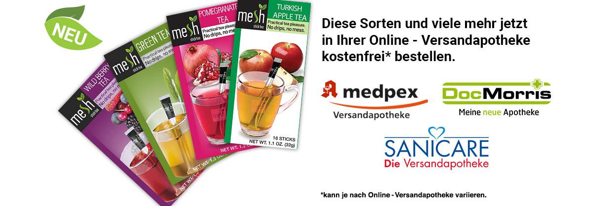 MeshSticks in Ihrer Online-Versandapotheke